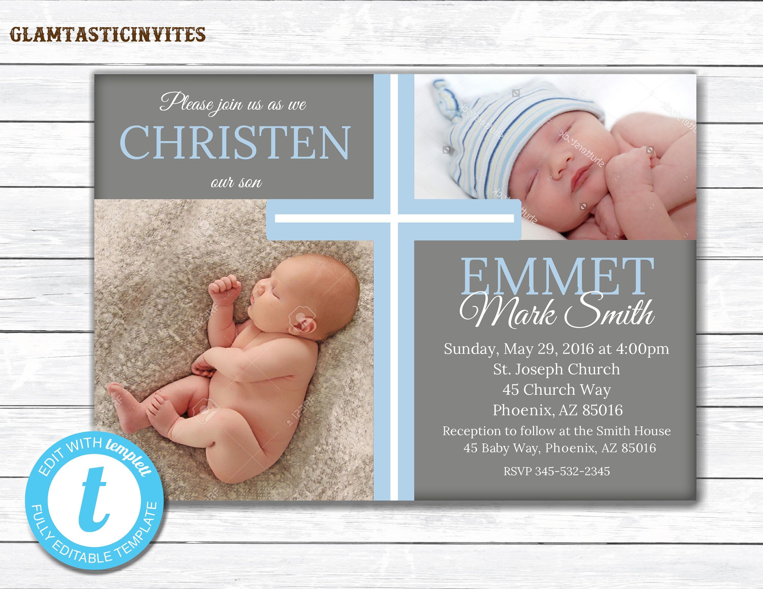 Baptismal invitation for baby boy philippines all the best baptismal invitation marialonghi stopboris Images