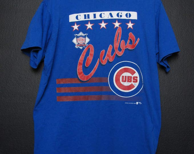 Chicago Cubs MLB 1991 Vintage Tshirt