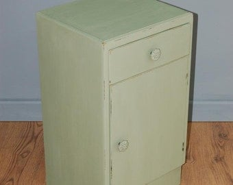 Delightful Shabby Chic Vintage Up-cycled Bedside Cabinet