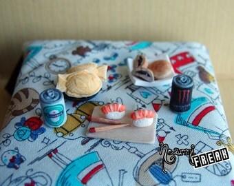 Pending of Nigiri-pending of fimo-pending craft-Sushi earrings-Sashimi – Nigiri