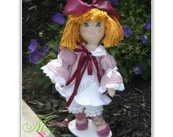 Ina Ichigo, Poupée au crochet, crochet doll, hook doll