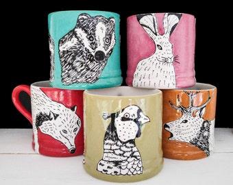 Woodland Mugs