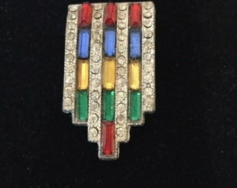 Stunning Art Deco Dress Clip
