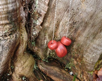 Conker necklace
