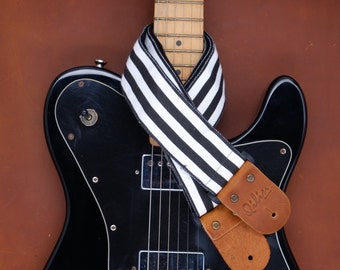 Black&White Guitar Strap