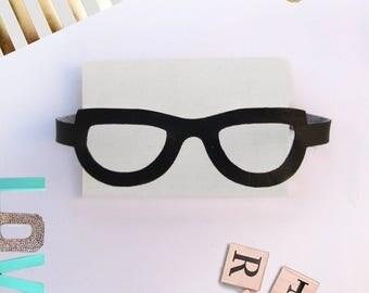 Rag Doll Glasses, Doll accessorie, Black Glasses, Cloth doll glasses, Dress up doll, Kids gift /Lunette pour poupee-Poupee de chiffon