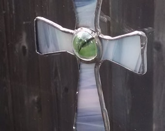 Stained Glass Cross  ( Pearlized )