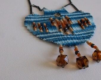 Mple kilimaki-woven jewelry