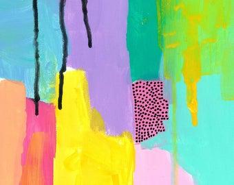 Abstract Art Print   Aurora