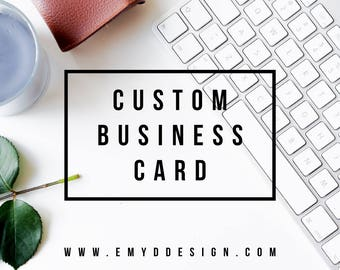 Custom Business Card Design || Business Card, Logo, Branding, Custom || EMYDDESIGN