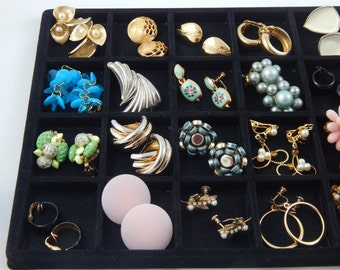 Vintage Collection of Costume Earrings