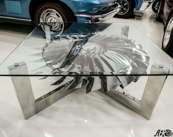 Custom Made Aviation Themed Tables. Have An Idea? Tell Me About It, I