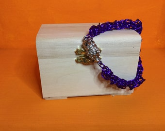purple trivantine bracelet
