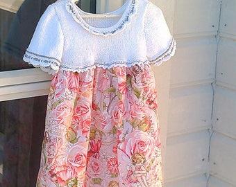 Pink garden fairy dress