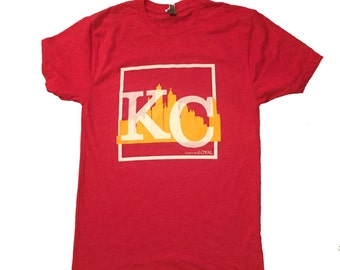 Kansas City shirt.KC shirt.Kc.Kc Chiefs.Chiefs shirt.Kc football shirt.KC t shirt.Red Friday.Sunday Football.Red and Gold.KC tee.Kc gifts