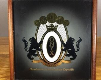 Onyx Reserve Cigar Box