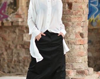 Harem Pants, Cotton Harem Pants, Festival Clothing, Aladdin Trousers, Casual Black Pants, Steampunk Clothing, Black Goth Pants