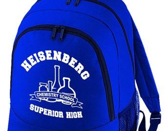 Superior High - Heisenberg Chemistry School - Cult TV inspired Backpack BPK1302