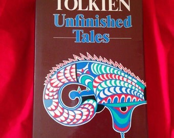 JRR Tolkien Unfinished Tales. 1987 edition
