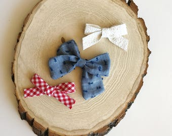 4th of July bundle, Fourth of July bows, july 4th, red white and blue bows