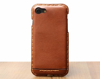 iPhone 7 case leather custom initials handmade fit for all iphone personalization handstitched iPhone 7 case leather wallet 099