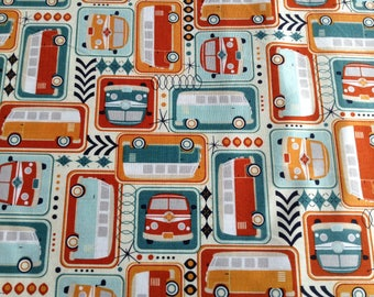 Road Trip Trailers by Riley Blake, Camping Outdoor Fabric
