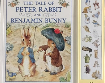 The Tale of Peter Rabbit and Benjamin Bunny Play-a-Sound Children's Book.