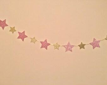 Star garland, twinkle twinkle little star garland, unicorn garland