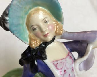 "Royal Doulton ""Autumn Breeze"" 1957-1964 Woman figurine"