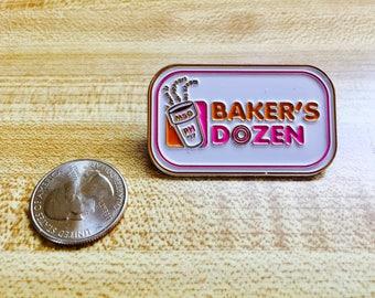 Baker's Dozen Phish MSG Summer Tour Steam Pin Dunkin Donuts