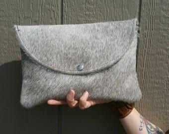 Large Grey Clutch
