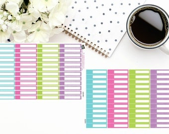 Planner Stickers | Skinny Appointment Reminder | 2 sizes available| For use in a variety of planners and journals|AL005-HV and AL005HRLY