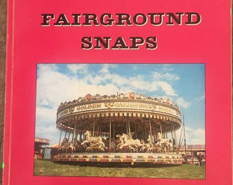 Fairground, 1970s leisure book, Fun fair, circus, Carousel, fair pictures, carnival, merry go round, waltzers, big dipper, holiday prints