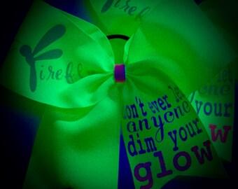 GLOW Bow~BLACKlight Glow