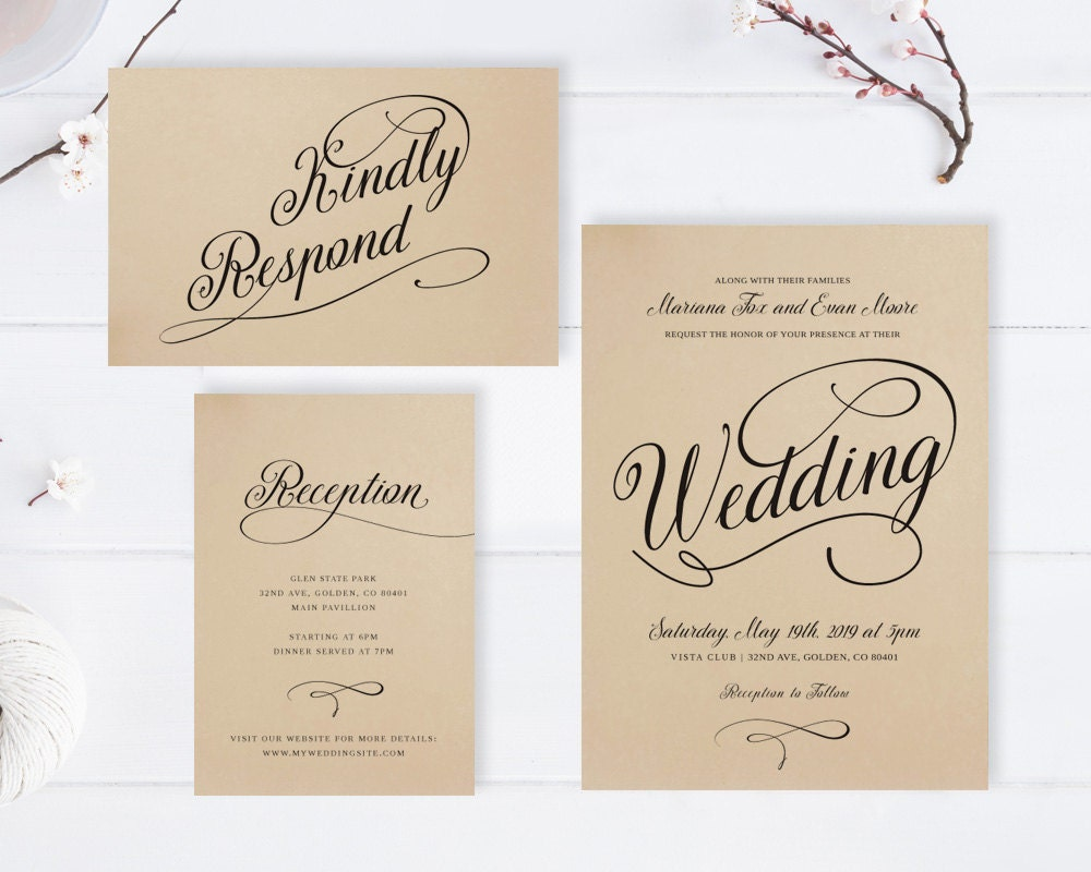 Cheap Invites For Wedding