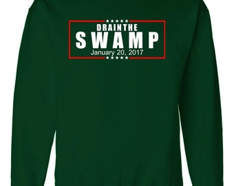 Drain the Swamp Donald Trump Presidential Inauguration Day 2017 Sweater