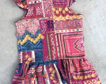 Hmong print Geri Dress