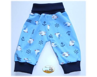 Baby pants blue Baltic Sea North Sea Gull 50/56