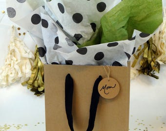 Gift wrap Package (Brown and Green)