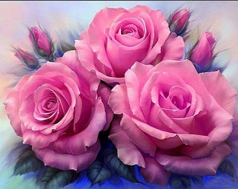 """The picture"""" Beautiful roses"""""""