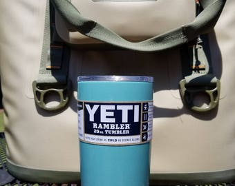 Yeti 20 oz Tiffany Blue Glitter.....