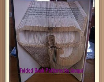 Snorkel and Goggles. Book Folding Pattern
