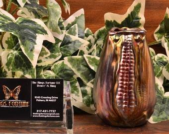 Weller Pottery Vase, 1902-07 Sicard Art Nouveau Corn Vase