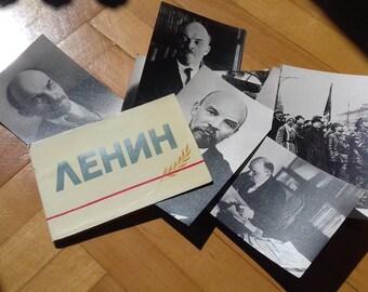 Set of 11 Lenin Photos-Soviet Propaganda from 1967