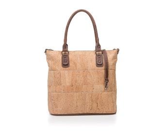 Cork bag Cork Corkbag Cork handbag natural handbag
