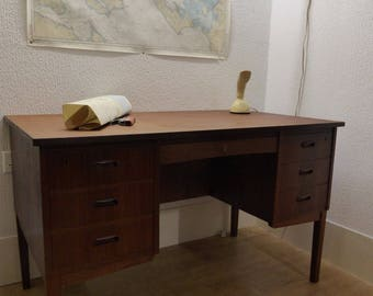 Danish Teak Office Desk