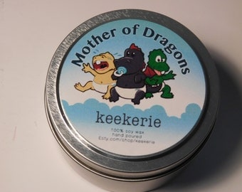 Mother of Dragons soy candle