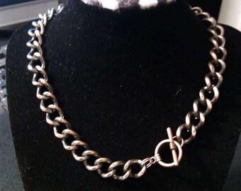 Copper Colored Choker and Bracelet Set