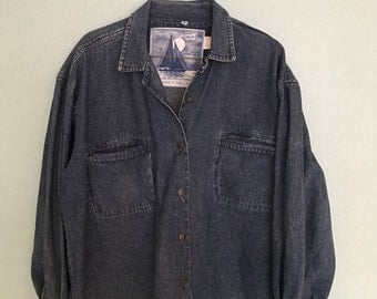 Lightweight Vintage Denim Jacket