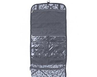 Monogrammed Hanging Cosmetic Bag/ Toiletry Case/ FREE MONOGRAM